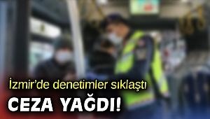 İzmir'de Kovid-19 denetimlerinde 677 bin 460 lira ceza verildi