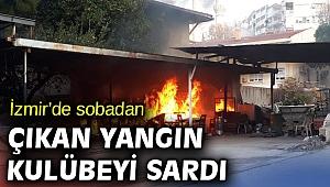 İzmir'de sobadan yangın çıktı!