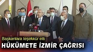 Kılıçdaroğlu'ndan kentsel dönüşüm için hükümete çağrı