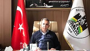 Koronavirüsü yenen Beydağ Belediye Başkanı görevinin başında