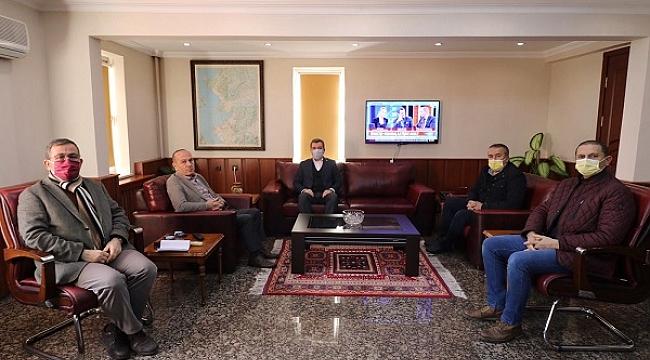 Meclis üyeleri Başkan Koştu ile birlikte çalışmaya devam ediyor