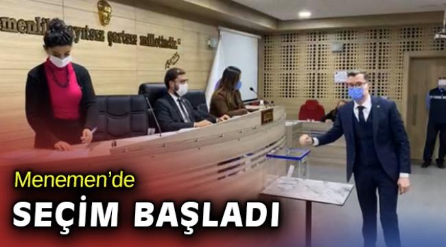 Menemen Belediyesi Meclis Üyeleri yeni başkanı seçiyor