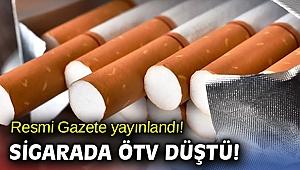 Resmi Gazete yayınlandı! Sigarada ÖTV düştü!