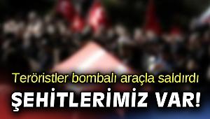 Resulayn'da bombalı araçla saldırı: Şehitlerimiz var!