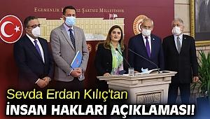 Sevda Erdan Kılıç'tan insan hakları açıklaması!