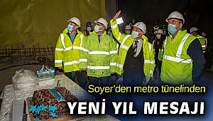 Soyer: Yeni yıla ulaşım projeleri damga vuracak