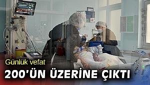 Türkiye'de son 24 saatte 32 bin 137 pozitif sonuç ve 203 can kaybı