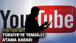 YouTube Türkiye'ye temsilci atayacak!