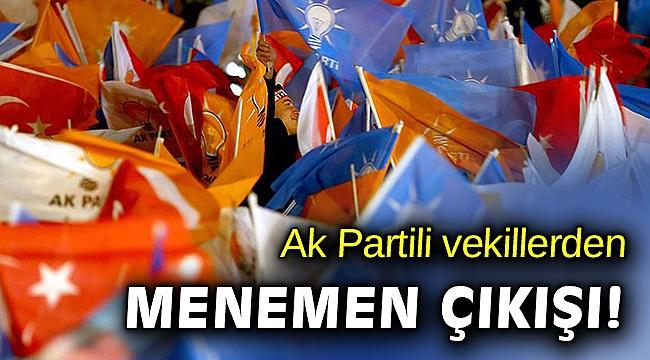 AK Partili Vekillerden Menemen'de tekrarlanacak 'Başkanlık kurası' açıklaması
