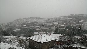 Aliağa'da Kar Manzaraları