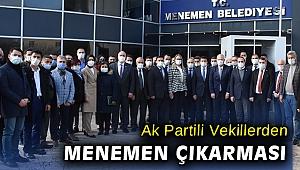 Başkan Vekili Pehlivan AK Parti milletvekillerini ve il yönetimini ağırladı