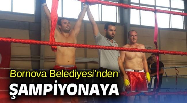 Bornova Belediyesi'nden Şampiyonaya
