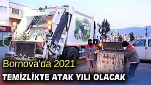 Bornova'da 2021 Temizlikte atak yılı olacak