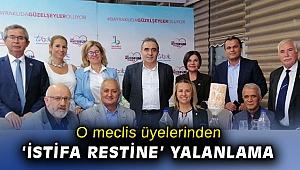 CHP Bayraklı meclis üyelerinden 'istifa resti' yalanlaması