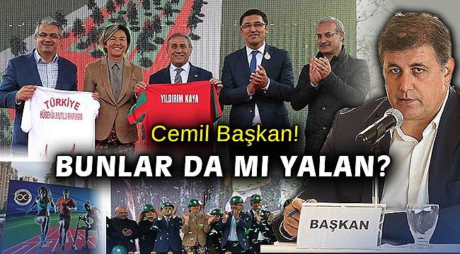 Genel Başkan Yardımcısının katıldığı temel atma töreni sahte miydi Cemil Başkan?