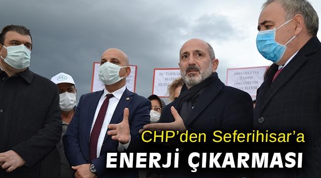 CHP Jeotermal Enerji Komisyonu üyeleri, Seferihisar'da saha incelemesi yaptı