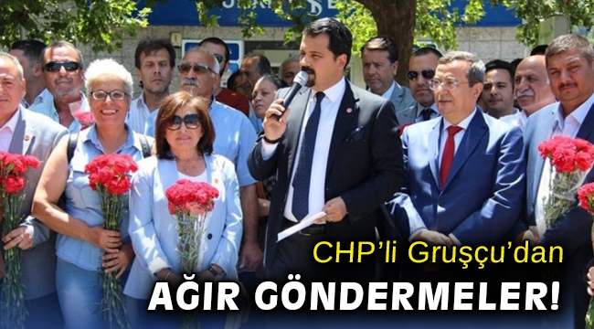 CHP Konak İlçe Başkanı Gruşçu'dan 'mitomani' benzetmesi