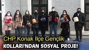 CHP Konak İlçe Gençlik Kolları'ndan sosyal proje!