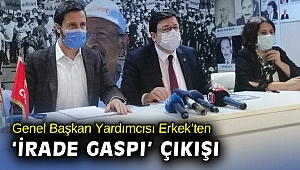 CHP'li Erkek: Menemen'de gaspa izin vermeyeceğiz!