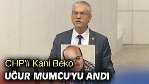 CHP'li Kani Beko Uğur Mumcu'yu andı