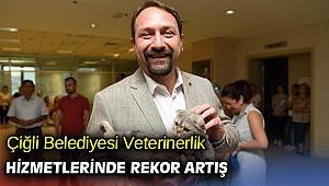Çiğli'de Veterinerlik Hizmetlerinde Rekor Artış