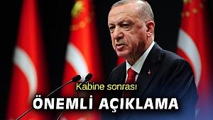 Cumhurbaşkanı Erdoğan aşının başlayacağı günü açıkladı