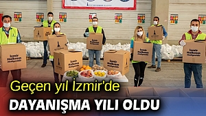Geçen yıl İzmir'de dayanışma yılı oldu