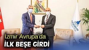 İzmir Avrupa'da ilk beşe girdi