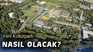 İzmir Büyükşehir Meclisine' Kültürpark ve COVID-19 sunumu