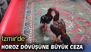 İzmir'de horoz dövüşüne büyük ceza