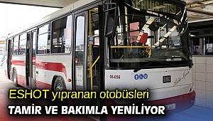 İzmir'de yıpranan otobüsler yenileniyor