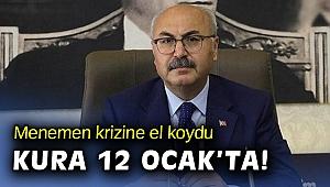 İzmir Valiliği Menemen'e Başkanvekili görevlendirdi!