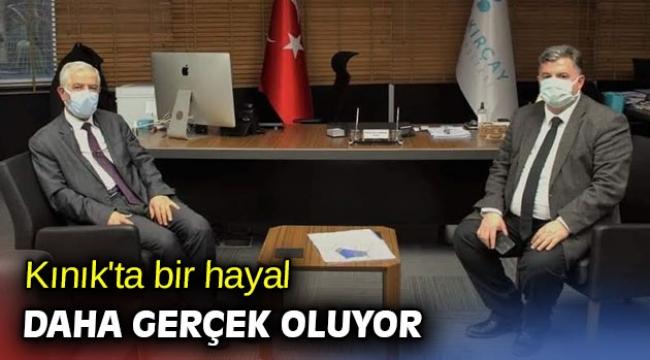 Türkiye'nin sağlık personeli Kınık'ta yetişecek