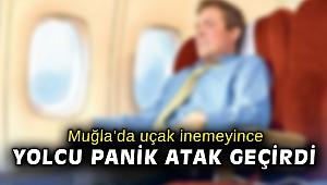 Uçak inemeyince yolcu panik atak geçirdi