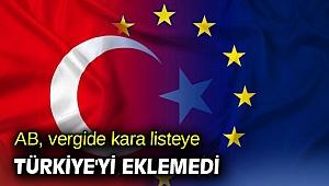 AB, o listeye Türkiye'yi eklemedi