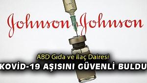ABD: Johnson and Johnson' aşısı güvenli ve etkili