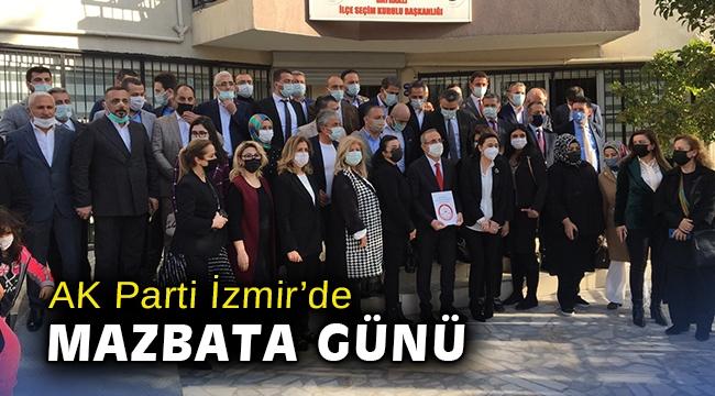 AK Parti İzmir'de mazbata günü