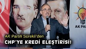 AK Partili Sürekli'den CHP'ye kredi eleştirisi!