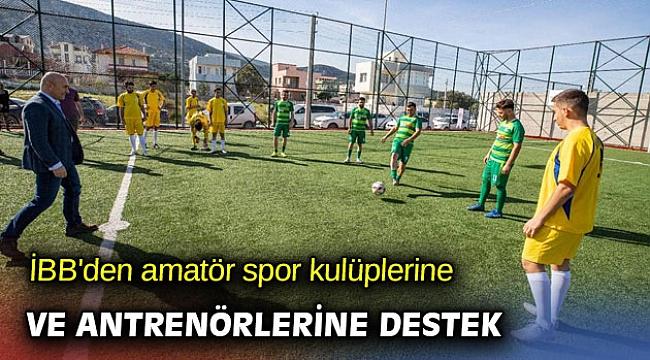Amatör spor kulüplerine ve antrenörlerine destek
