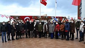 Atatürk'ün kuşadası'na gelişinin yıldönümü kutlandı
