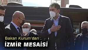 Bakan Kurum'dan İzmir mesaisi