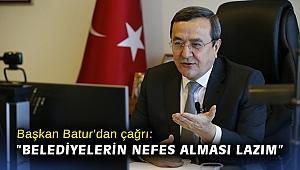 Başkan Batur'dan çağrı: