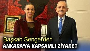 Başkan Sengel'den Ankara'ya kapsamlı ziyaret