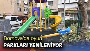 Bornova'da oyun parkları yenileniyor