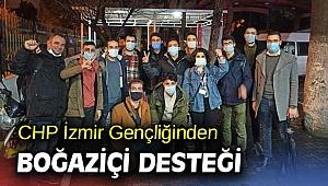 CHP İzmir Gençliğinden Boğaziçi Desteği