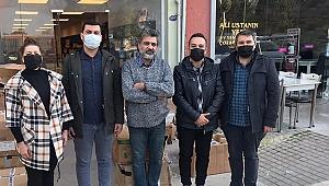 CHP Konak esnafın yanında olmaya devam ediyor