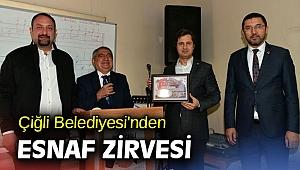 Çiğli Belediyesi'nden Esnaf Zirvesi