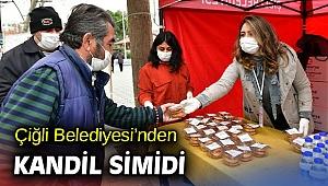 Çiğli Belediyesi'nden Kandil Simidi!