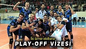 Efeler Ligi'nde iki İzmir ekibi Arkas Spor ile Altekma, play-off vizesi aldı