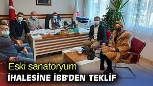 Eski sanatoryum ihalesine İBB'den teklif